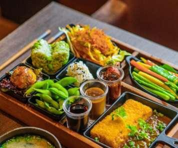 Vegetarian Bento Set