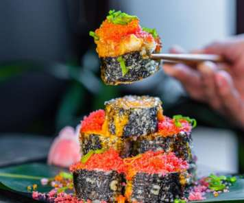 Volcano Maki Sushi